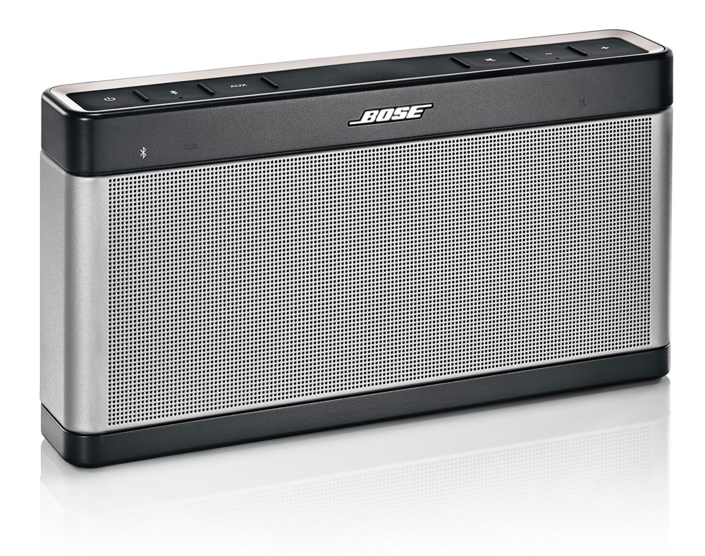 nouvelle enceinte bluetooth bose soundlink iii. Black Bedroom Furniture Sets. Home Design Ideas