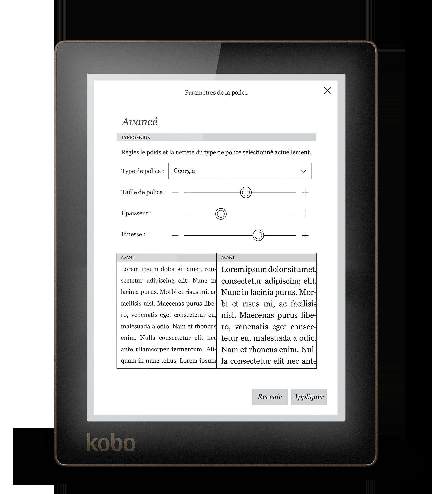 kobo aura test complet liseuse les num riques. Black Bedroom Furniture Sets. Home Design Ideas