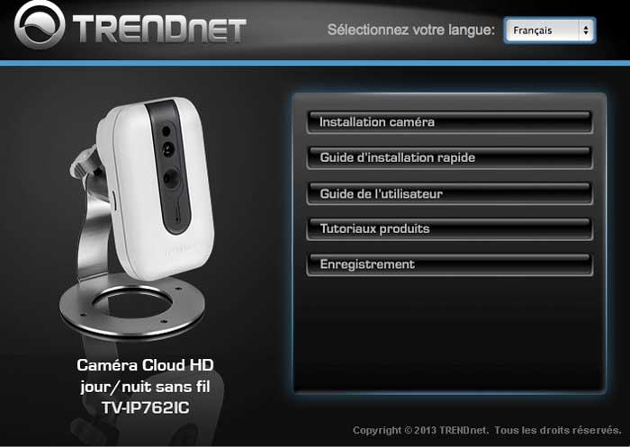tutoriel installer une cam ra ip de vid o surveillance. Black Bedroom Furniture Sets. Home Design Ideas