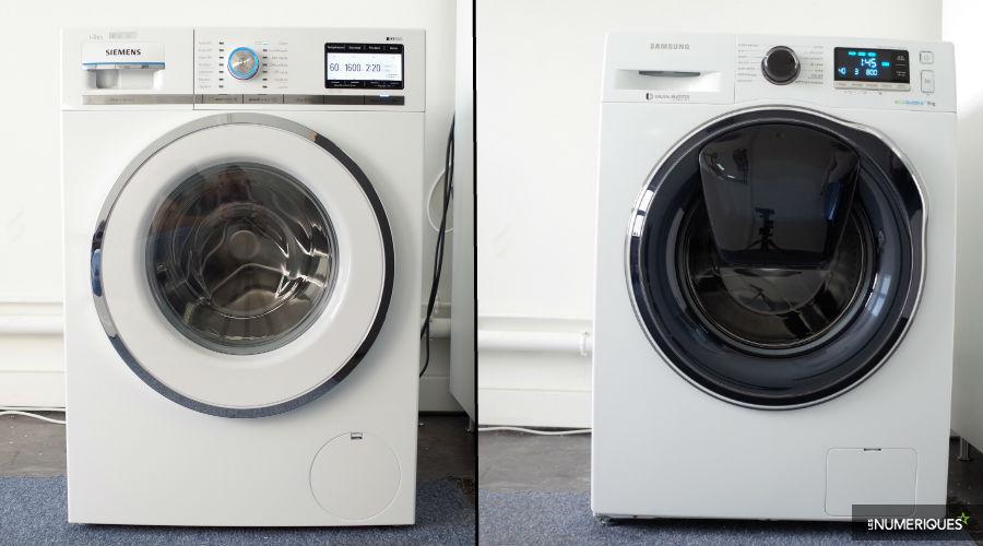 Duel de lave-linge   Samsung AddWash WW90K6414QW vs Siemens iQ800  WM16Y892FF - Les Numériques 79cd1962b134