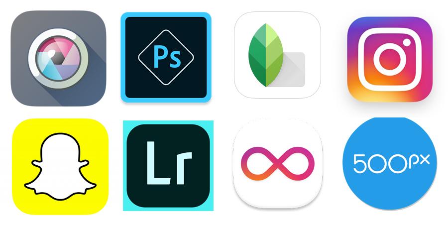 Les meilleures applications photo pour smartphones