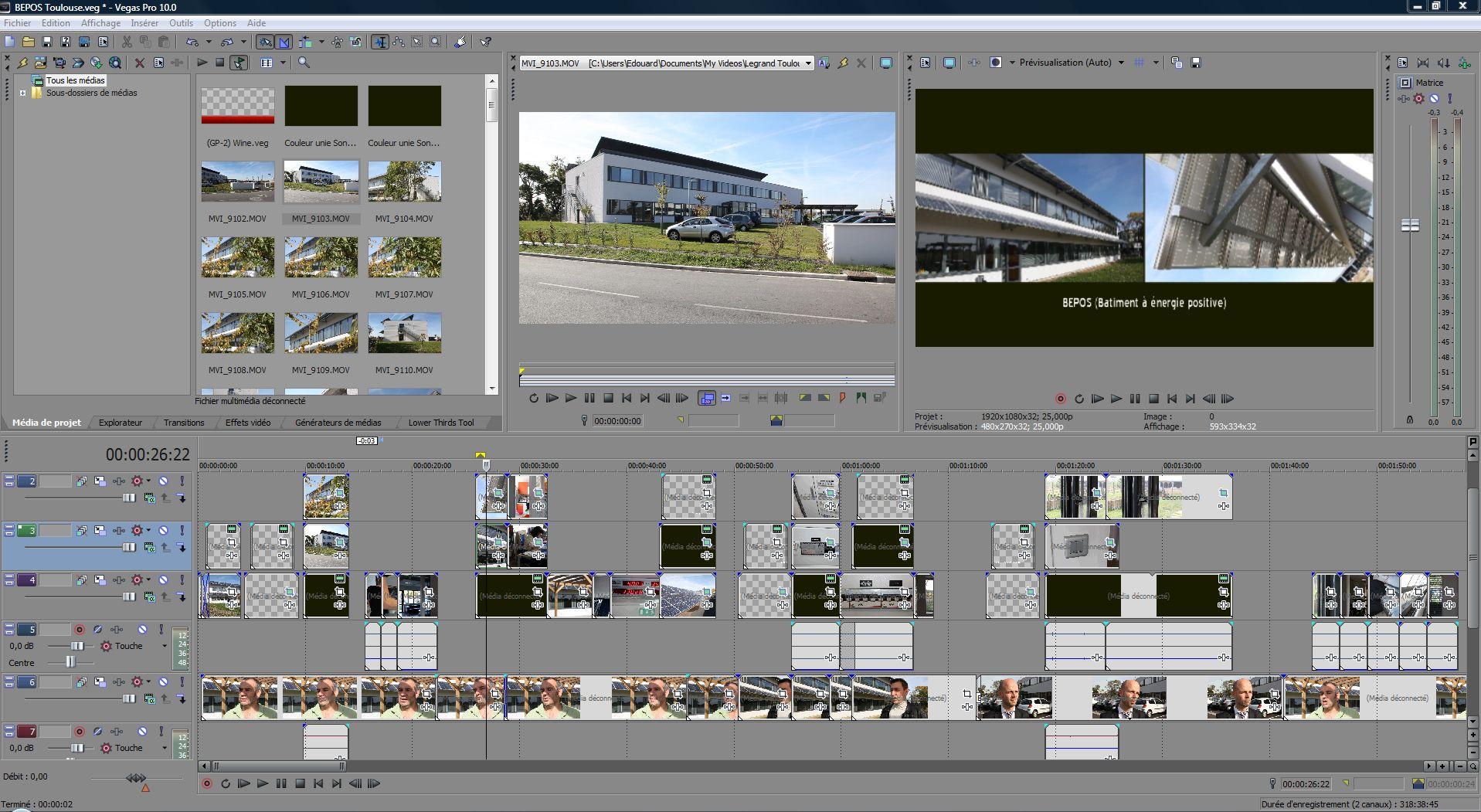 Vegas pro 10 le montage avchd enfin fluide for Logiciel montage 3d