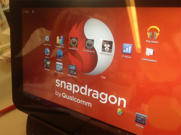 Tablette snapdragon