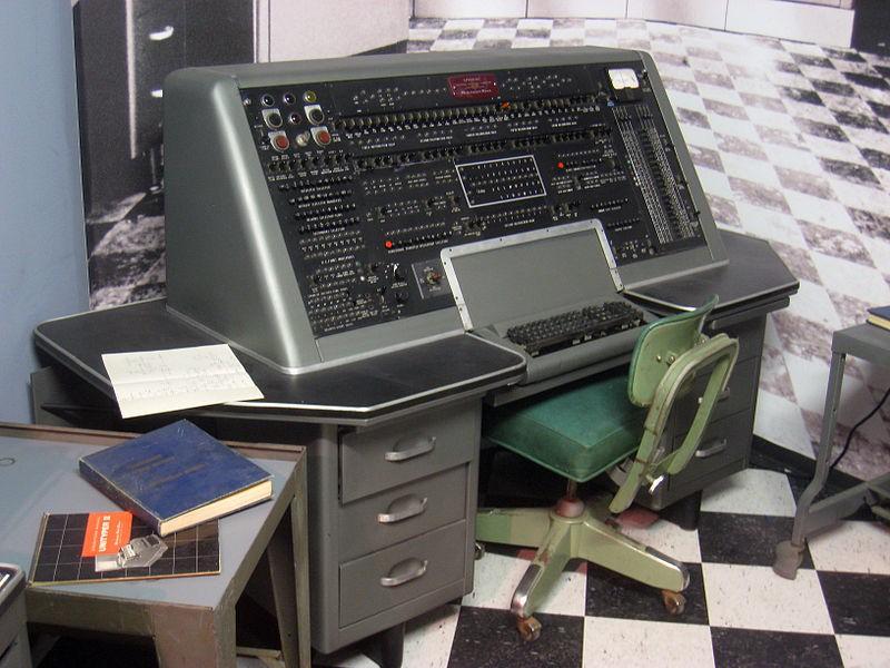 Univac console