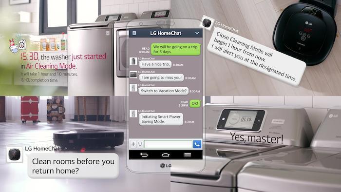 LG appli smartphone