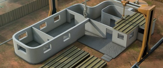Impression 3D : 24 Heures Pour Fabriquer 10 Maisons À 4300 € Pièce