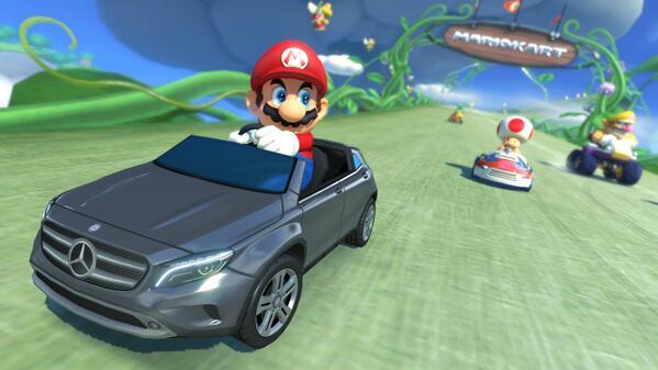 Les Numériques Nintendo Accueille Dans Mercedes Mario 8 Kart gyf76mIYbv