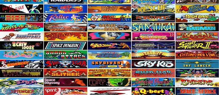 900 classiques du jeu d 39 arcade dans son navigateur. Black Bedroom Furniture Sets. Home Design Ideas