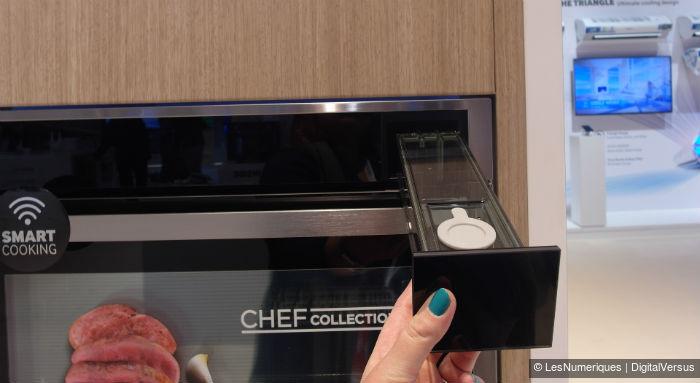 Samsung sortira en avril le Gourmet Vapeur, four connecté à 1500 €