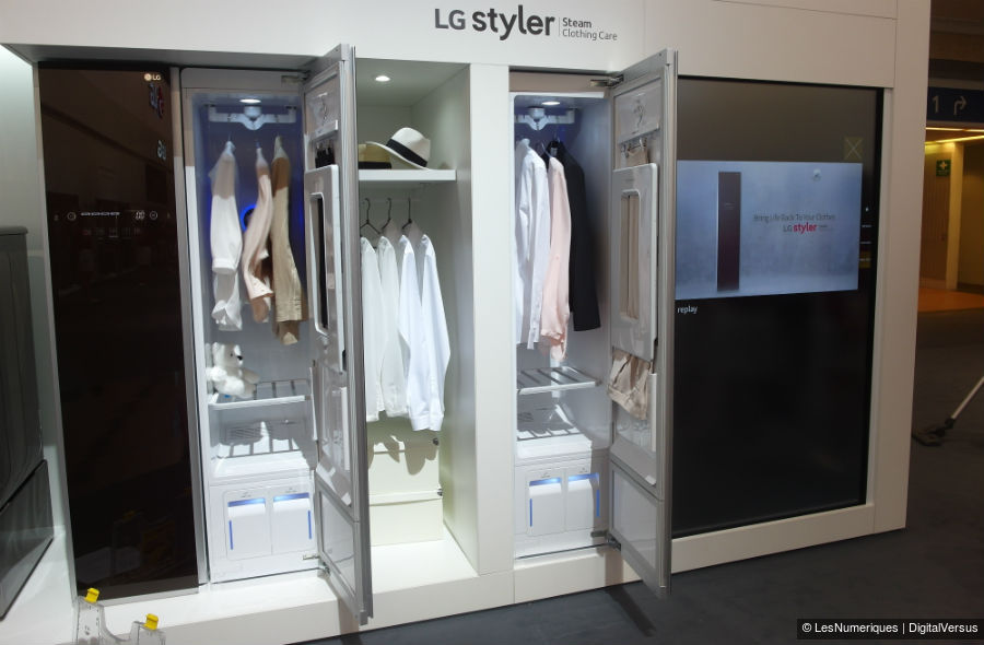 ifa 2015 lg lancera son armoire s chante styler en france en 2016. Black Bedroom Furniture Sets. Home Design Ideas