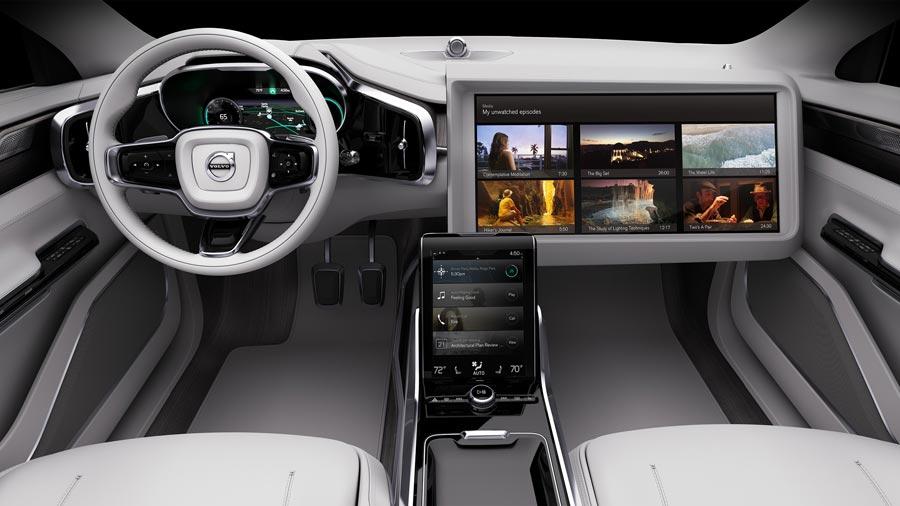 Volvo Concept 26 : un intérieur douillet pour voiture autonome