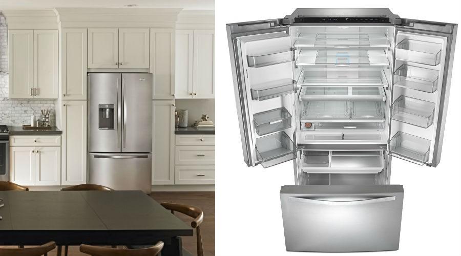 ces 2016 whirlpool pr sente un r frig rateur l 39 int rieur modulable les num riques. Black Bedroom Furniture Sets. Home Design Ideas