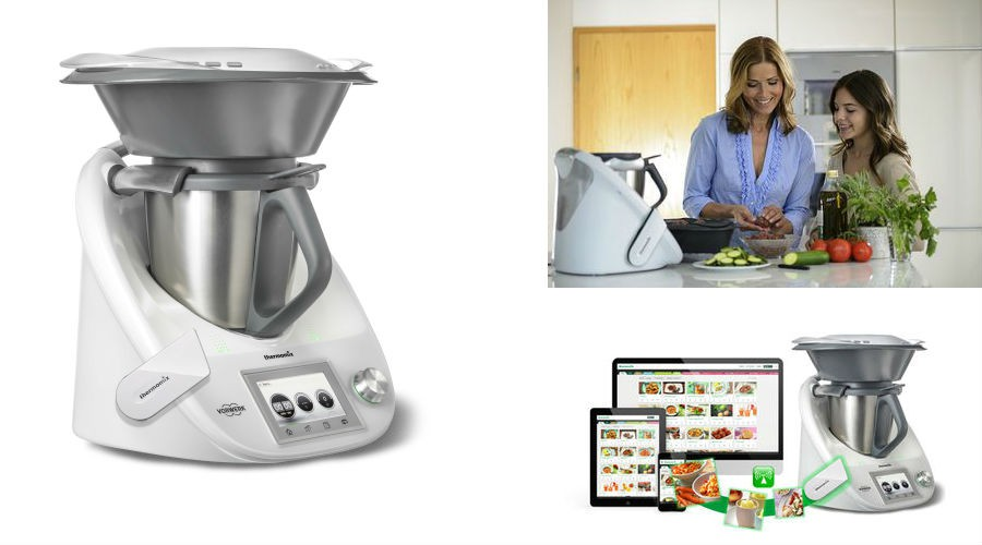 Cook key une cl aimant e et voil le thermomix connect for Le prix du thermomix