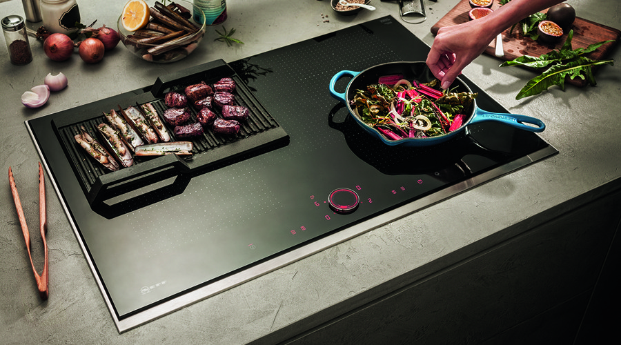 Twistpad fire la table de cuisson induction compl te - Table cuisson mixte gaz induction grande largeur ...