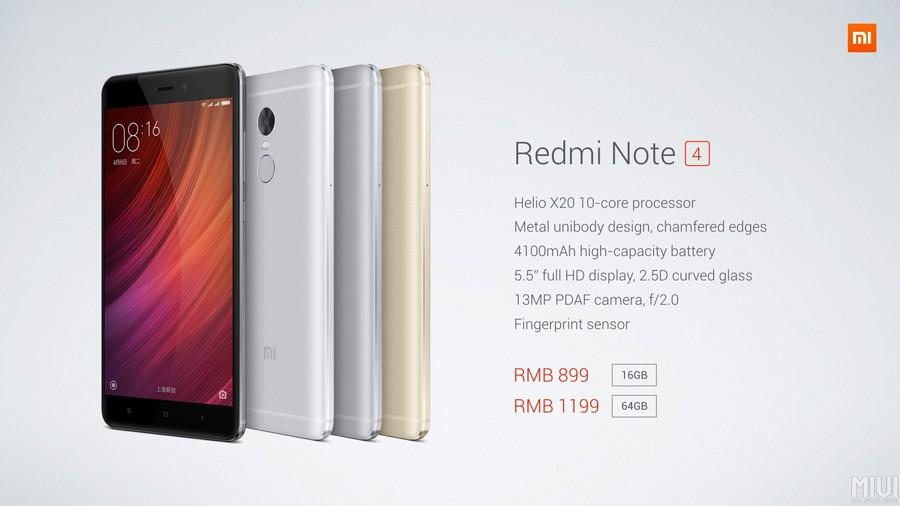 Xiaomi Redmi Note 4 Une Montee En Gamme Mais Pas Prix