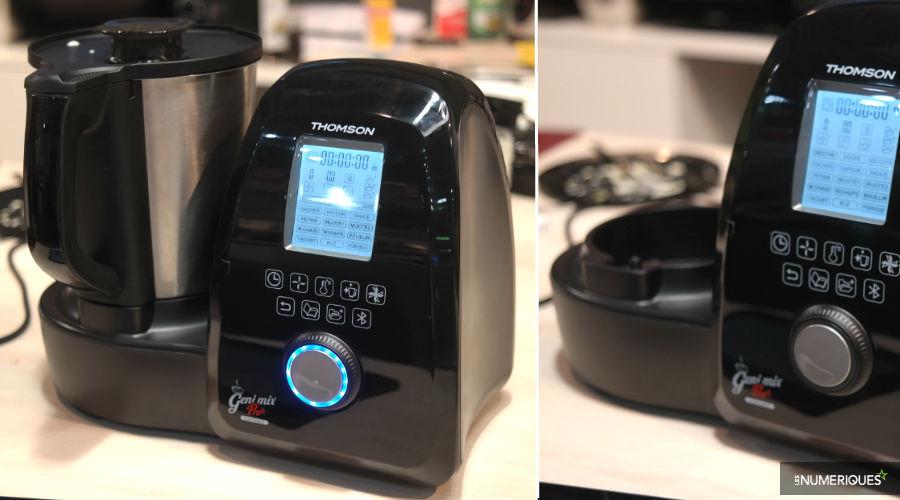 Thomson lance un robot cuiseur connect geni mix pro connect - Geni mix pro connect ...