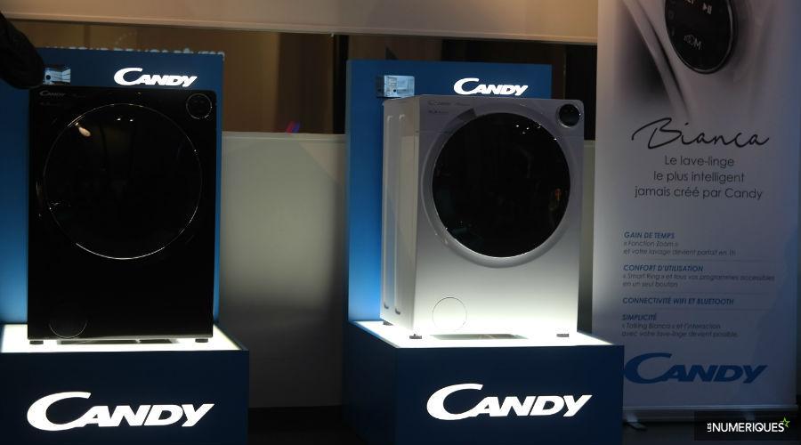 candy fait voluer son lave linge bianca qui sera pilotable la voix les num riques. Black Bedroom Furniture Sets. Home Design Ideas