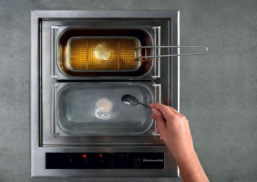 KitchenAid encastre son multicuiseur Chef Sign