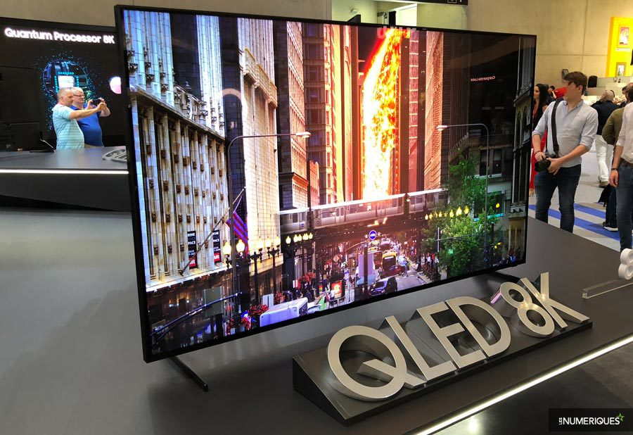 IFA 2018 – Samsung's first Qled 8K TV in October