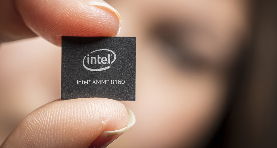 Intel présente un modem 5G pour les terminaux de 2020