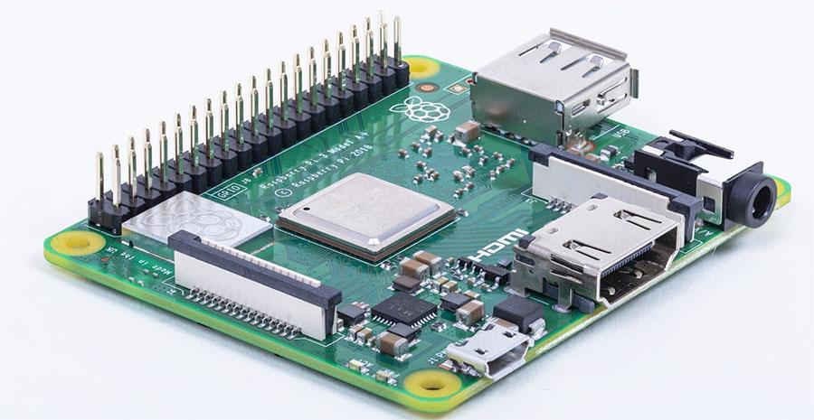Raspberry Pi 3 A+ : le micro-ordinateur encore plus micro