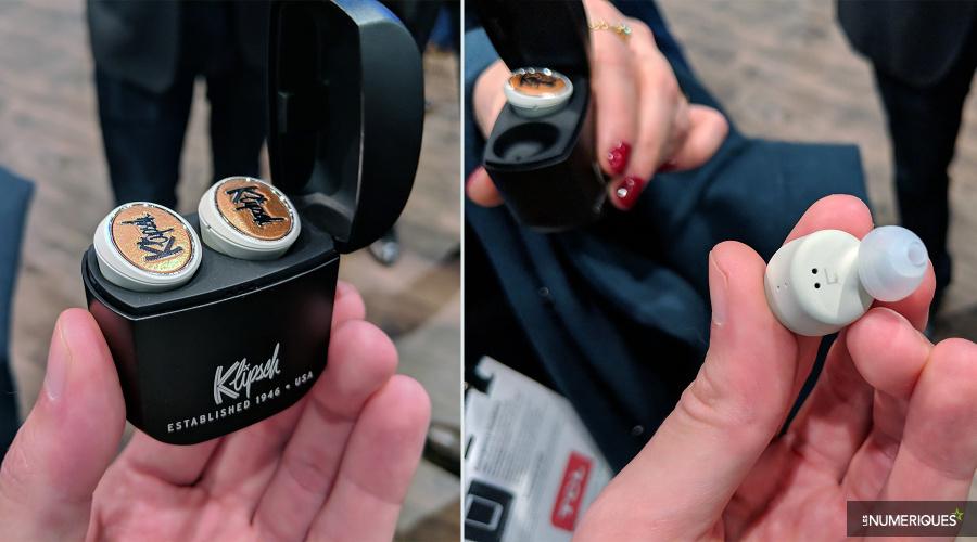 Klipsch dévoile sa première paire d'intras true wireless, les T5