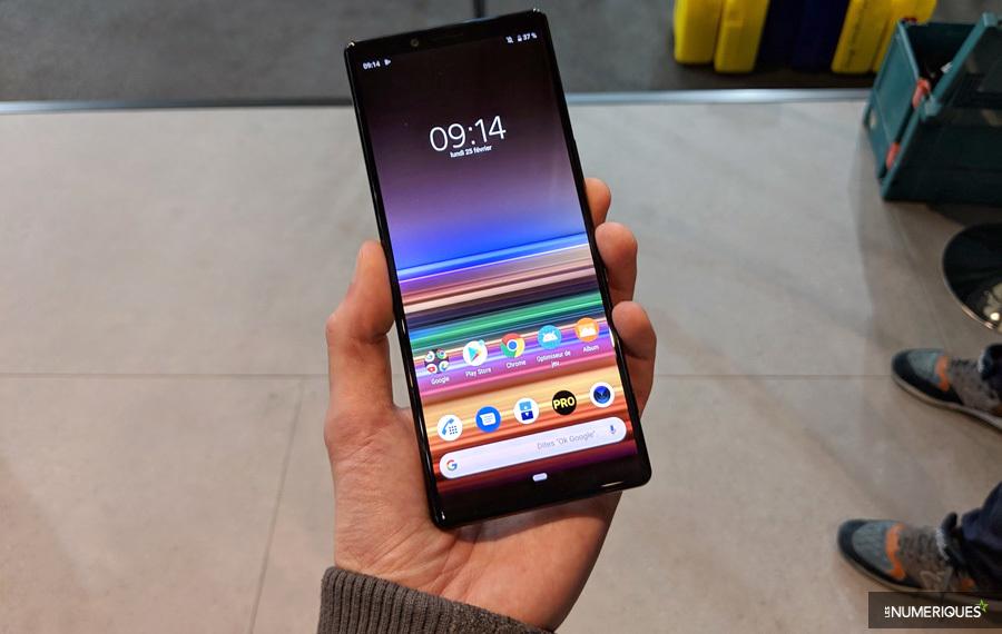 MWC 2019 – Sony dévoile son Xperia 1, avec écran Oled 21:9
