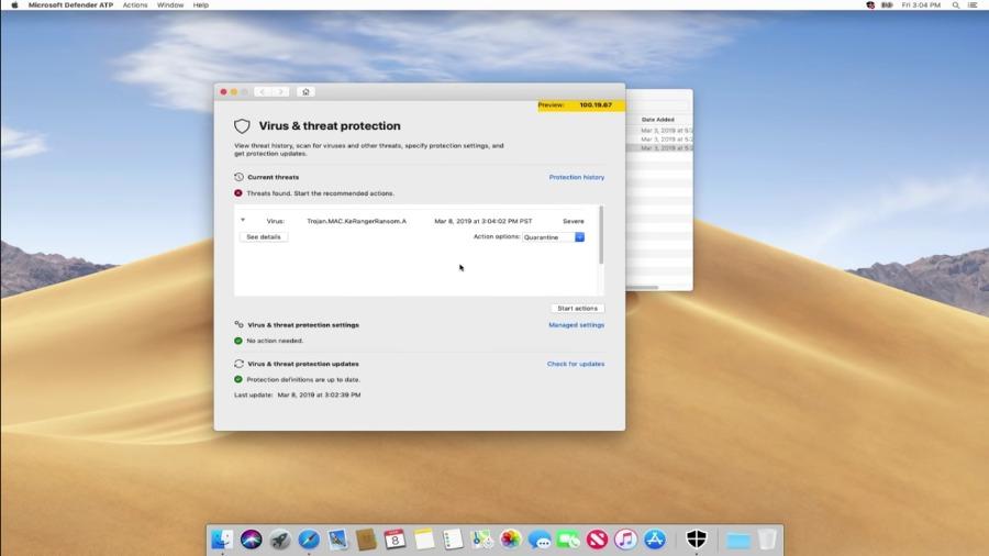 Microsoft : Windows Defender ATP s'invite sur macOS