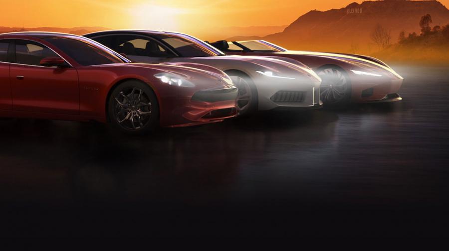 Karma dévoile trois nouveaux modèles électriques