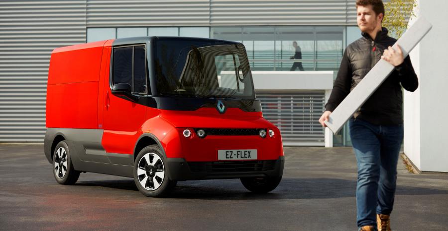 Renault EZ-FLEX : un utilitaire électrique taillé pour la ville