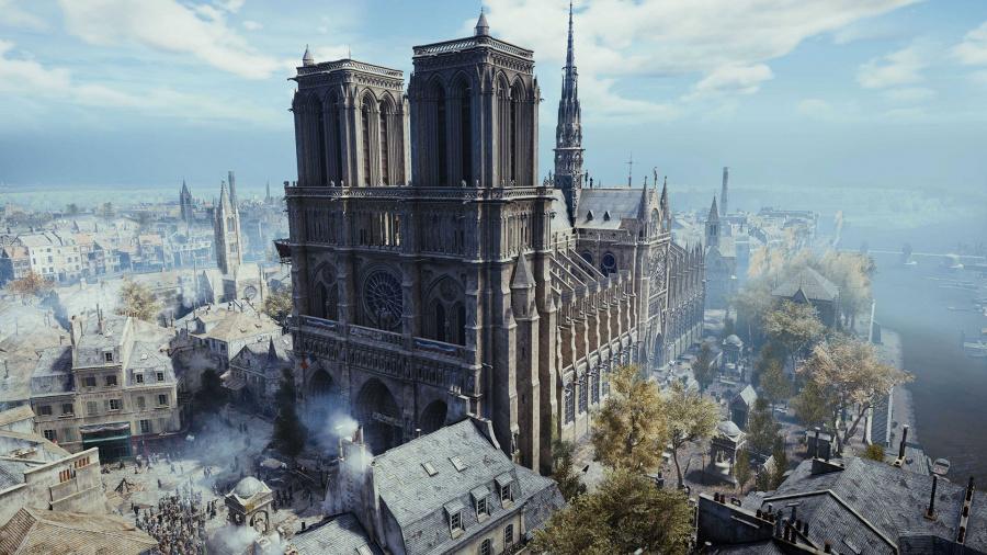 Notre-Dame : Ubisoft offre le jeu Assassin's Creed Unity et 500 000 €