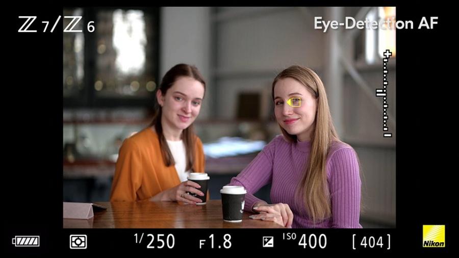 Firmware : l'autofocus des Nikon Z6 & Z7 peut enfin détecter les yeux