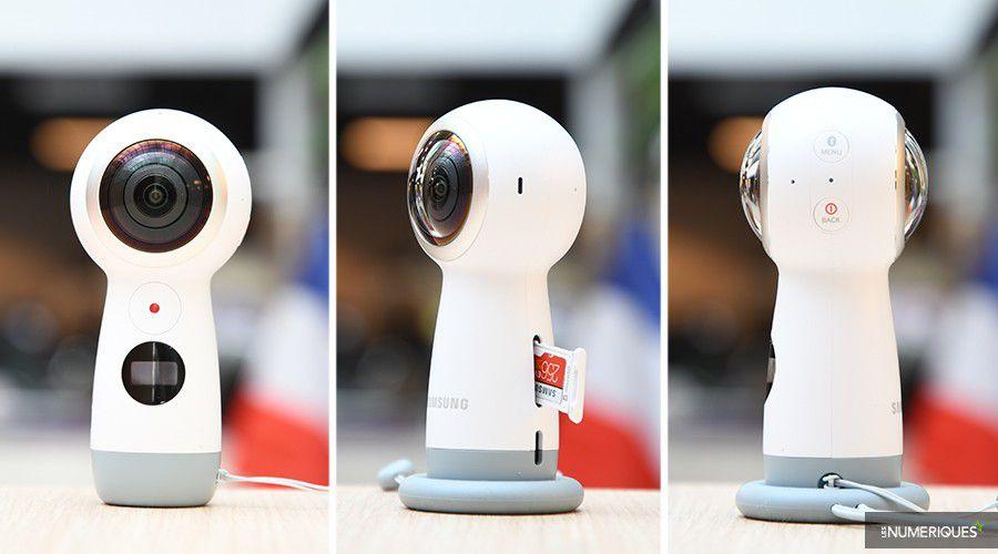 Bon plan – La caméra 360° Samsung Gear 360 à 86 €
