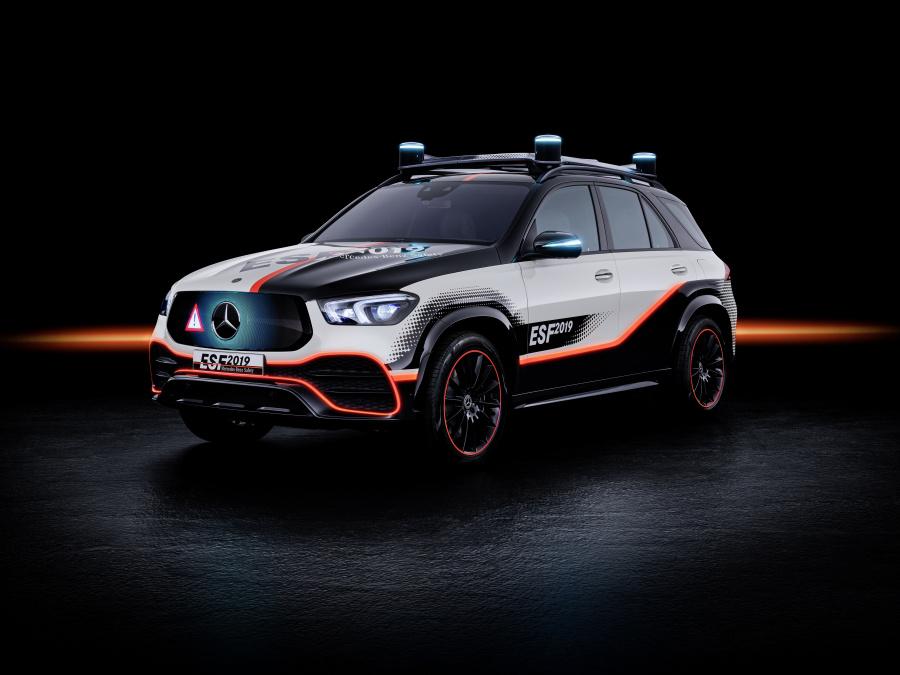 Mercedes dévoile l'ESF 2019 : la sécurité routière avant tout