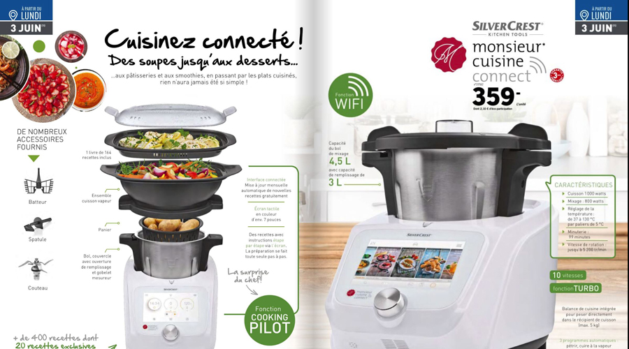Monsieur Cuisine Connect Le Thermomix Killer De Lidl