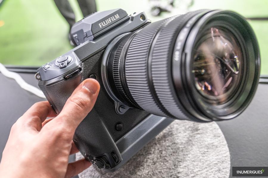 Première prise en main du Fujifilm GFX 100 au capteur de 102 Mpx