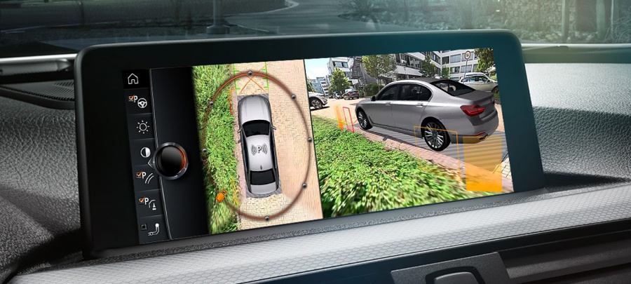 BMW Drive Recorder : quand les capteurs et caméras servent de dashcam