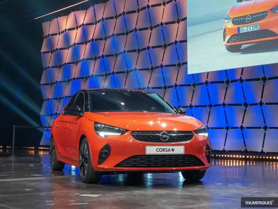 Opel passe à la voiture électrique avec la citadine Corsa-e