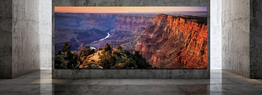 Le TV Samsung The Wall Luxury peut atteindre 292 pouces pour du 8K
