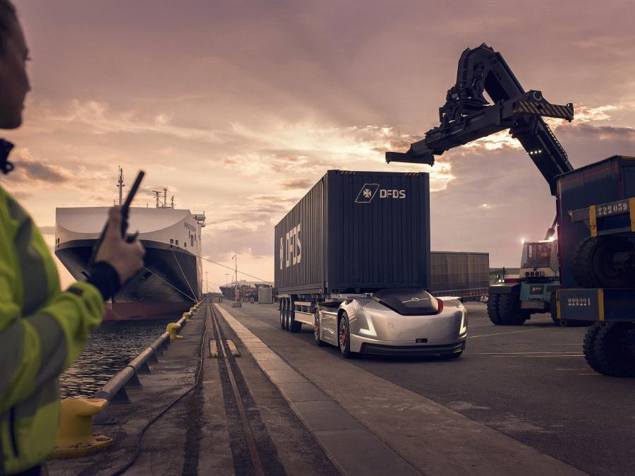 Volvo Vera : le camion électrique et autonome entre en phase de test