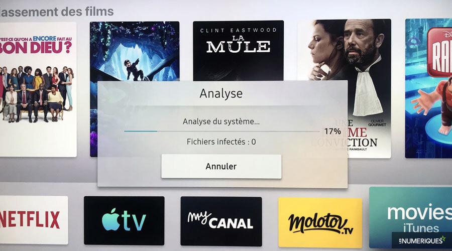 Samsung intègre un antivirus sur ses téléviseurs
