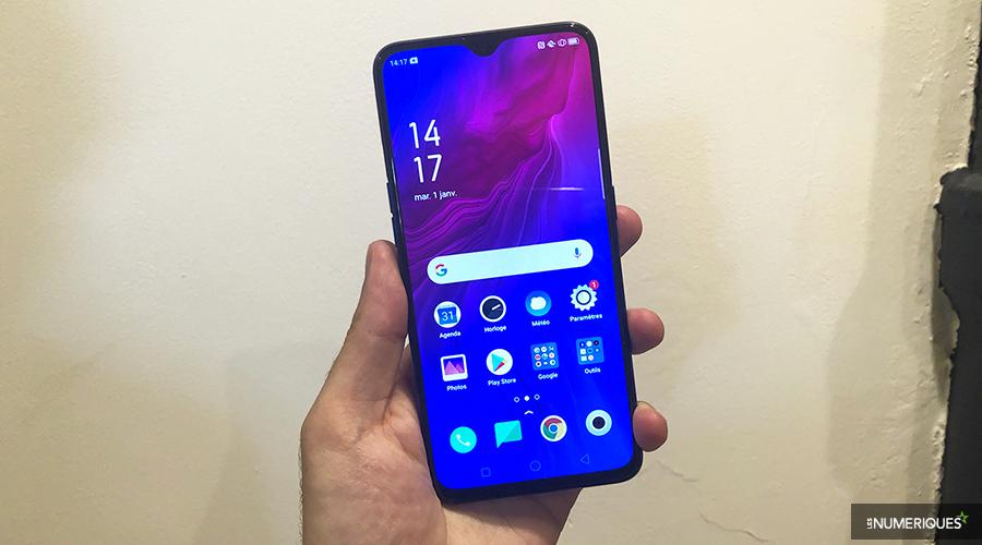 Oppo présente son dernier smartphone, l'Oppo Reno Z