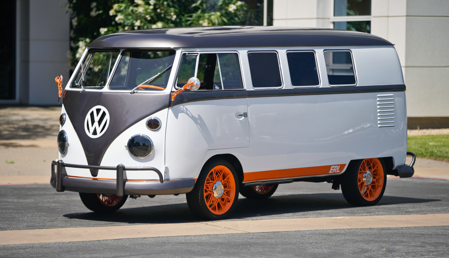 Volkswagen dévoile le Type 20, un Combi converti à l'électrique
