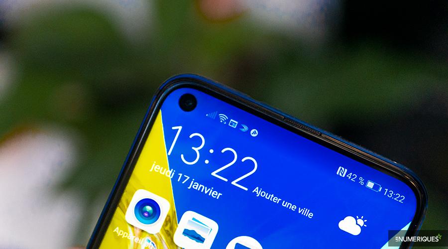 Huawei travaillerait également sur un module photo placé sous l'écran