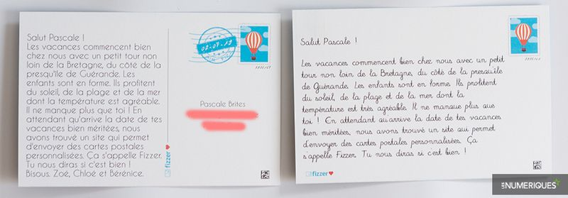 Cartes Postales Personnalisees 5 Services En Ligne Au Banc D Essai Les Numeriques