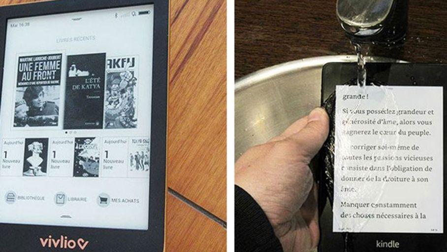 Duel De Liseuses Vivlio Touch Hd Plus Vs Amazon Kindle