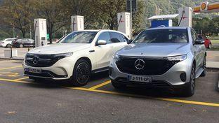 Prise en main Mercedes EQC 400 : un SUV électrique bluffant