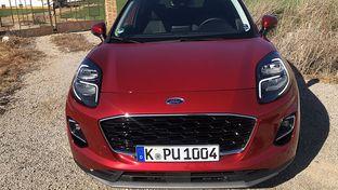 Prise en main Ford Puma : un SUV micro-hybride, avertisseur de dangers