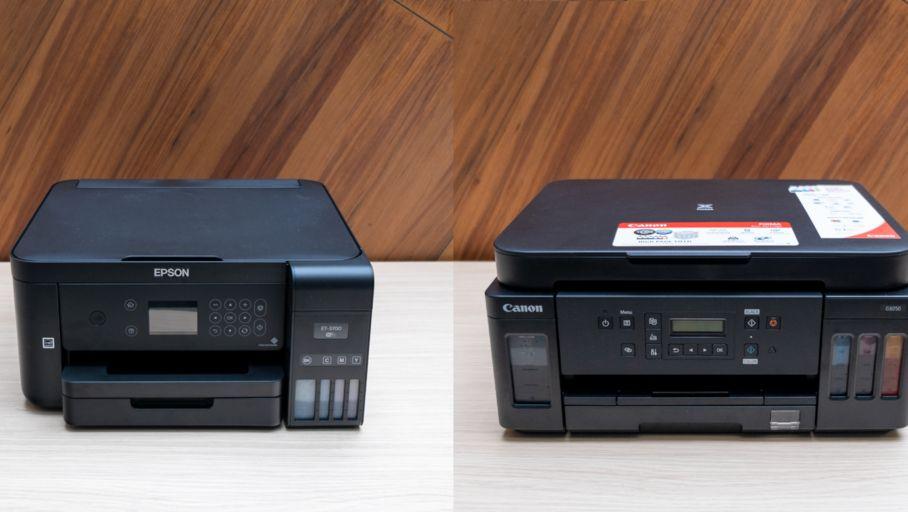 Duel d'imprimantes sans cartouches – Epson EcoTank ET-3700 vs Canon Pixma MegaTank G6050
