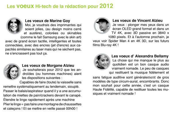 ILLUSTRATIONS TENDANCES 2012 voeux